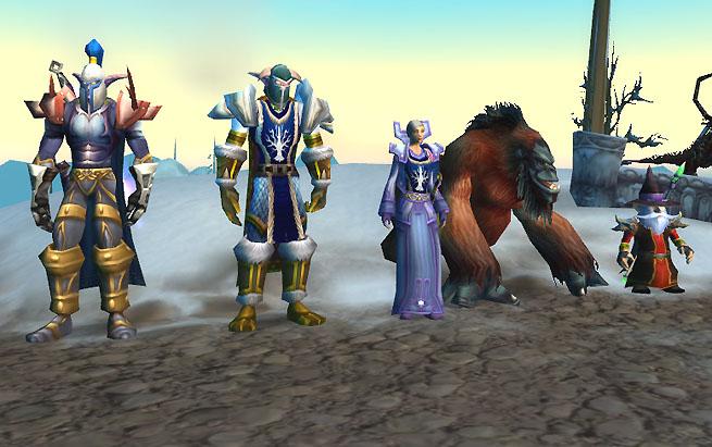 Group snapshot Cynathane, Zefyre, Haaninpagu, Zyoar (Zefyre's pet), Carim